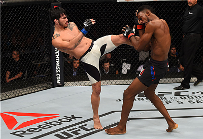 Neil Magny and Erick Silva